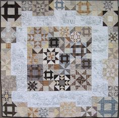 Snow Days Quilt - blocks and embroidery by Crabapple Hill