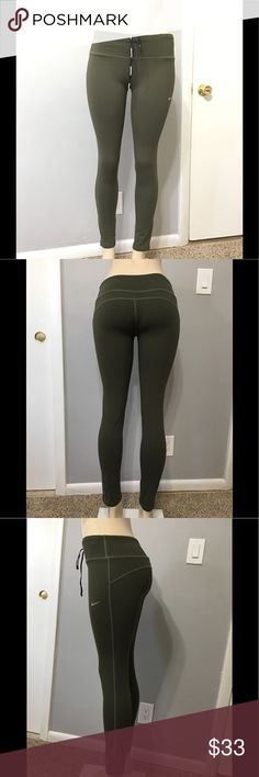 Nike leggings pants Olive size XL New without the tag on Nike Pants Leggings