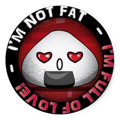 Funny japanese riceball stickers