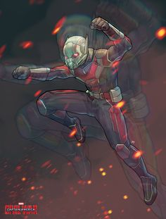 Antman | Civil War by Bryan Valenza