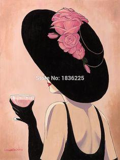 Ucuz El Boyalı Yağlıboya Genç Kadın Giyen bir balck Şapka ile pembe Güller ve bir kırmızı şarap Duvar Sanat evi dekor için Tuval tutun, Satın Kalite resim ve hat sanatı doğrudan Çin Tedarikçilerden: Sıcak haber:Biz destek özelleştirebilirsiniz resim ve herhangi bir boyut, sormak için bekliyoruz fiyat.  &nb