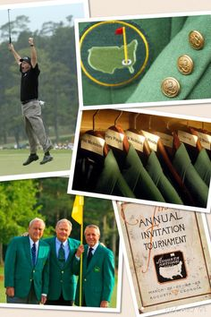 THE MASTERS AGUSTA GEORGIA THE GREEN JACKET LOOKS SO COOL!!!!!! The trio legends Arnold Palmer, Jack Nicklaus, and Gary Player!!⛳️ COME ON PHILL YOU CAN WIN THIS YEAR⛳️