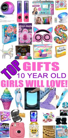top gifts for 10 year old girls best gift suggestions presents for girls tenth birthday or christmas find the best ideas for a girls 10th bday or