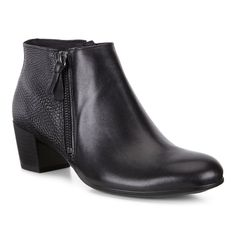 Botine business dama ECCO Shape M 35 (Black) - Femei