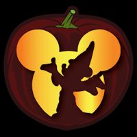 Disney pumpkin stencils over 130 printable pumpkin for Mickey mouse vampire pumpkin template