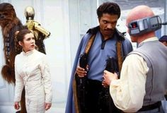 Star Wars The Empire Strikes Back Star Wars Film, Star Wars Art, Star Trek, Billy Dee, Princesa Leia, Han And Leia, Lando Calrissian, Cloud City, The Force Is Strong