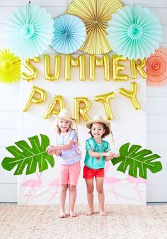 Party Time: Fire and Crème for Pottery Barn Kids – Party Ideas Flamingo Party, Festa Party, Luau Party, Luau Theme, Summer Parties, Summer Kids, Backyard Parties, Summer Pool, Summer Garden