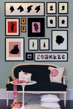 Nothing says home and love like a photo wall. Check out these 50 amazing photo gallery wall ideas and learn the best way to photos for your wall gallery. Inspiration Wand, Interior Inspiration, Design Inspiration, Wal Art, Masterpiece Theater, Interior Styling, Interior Design, Wall Decor, Decor Pad