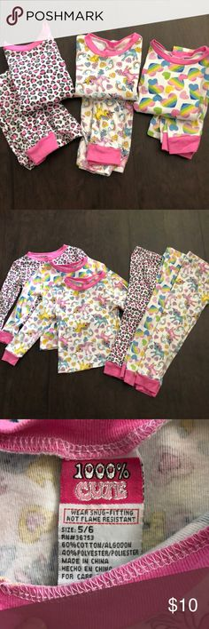 3 To 6 Months Truly Teague Long Sleeve Infant T-Shirt Lots Of Pastel Smiley Faces Petal Pink