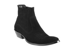 G-329/01 Camoscio black | Cowboy Boots  www.garantito1966.com