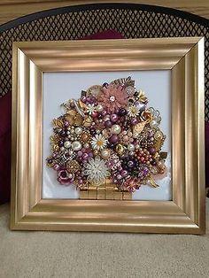 jewelry framed art - Google Search
