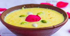 Rabdi is the famous Indian dessert that is relished with great joy in North India