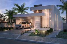 house design and architecture consultant. Minimalist House Design, Modern House Design, Facade Design, Exterior Design, Modern Architecture House, Architecture Design, Style At Home, Bungalow Haus Design, Home Modern