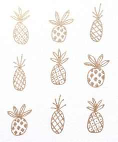 pineapple tattoo possibilities