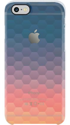 Warm Sunset by Uncommon for iPhone 6 Clear Deflector...translucent case with a warm deep color gradient. Lovely.