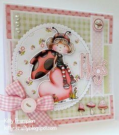 Made using Polkadoodles Lily Bug Love Kit.