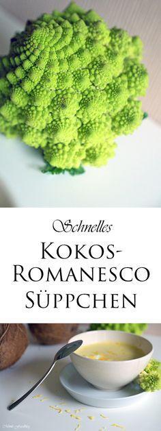 Der Romanesco ist eigentlich eine sehr ursprüngliche Form des Blumenkohls. Er ist geschmacklich ein Zwischending zwischen Blumenkohl und Brokkoli. Irgendwie bin ich kein großer Blumenkohlfan, den Brokkoli liebe ich jedoch genau so sehr wie den Romanesco. Außerdem übertrifft der Romanesco den Blumenkohl sehr deutlich an Vitamin-C Gehalt. Also perfekt für mich kleinen Blumenkohlmuffel. Ich habe …