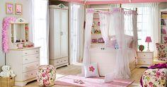 Çilek genç odası takımı , pembe renk modern tasarım