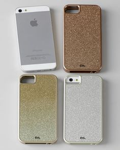 Glitter Glam iPhone 5/5s Case at Horchow.