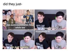 The biggest shipper of phan is Daniel James Howell and no one can tell me otherwise