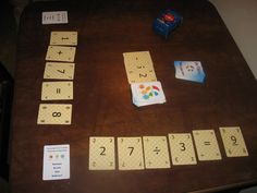 Go Figure! - Combine numbers and words for a fun game experience. Using the numbered cards, create equations. Get more points for larger numbers and more complex equations. Then the rest of the players develop a unique word problem using the equation. See if you can get the Magic Letter!