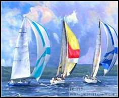 sailboats paintings - Google Search