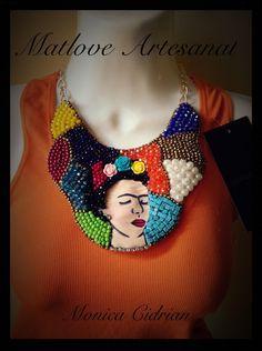 collares artesanales de frida kahlo - Buscar con Google