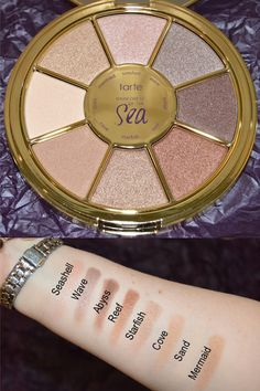 New! Tarte's Rainforest of the Sea Eyeshadow Palette Prime Beauty Blog