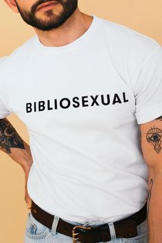 tshirt reading BIBLI