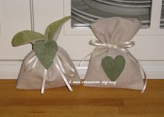 lino e cuoricino verde