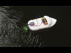Cómo hacer un simple barco   barco de goma accionado - YouTube