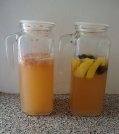 recipes for Coconut Water Kefir, Creamy ginger, Lime Pineapple, Raspberry Mango, Strawberry Lemon and Cola Cherry.  :) YUM!!!