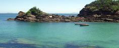 BUZIOS  the small Ferradurinha beach
