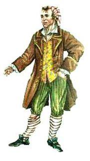 Maschera tradizionale di carnevale: Sandrone
