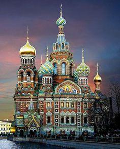 RÚSSIA - Catedral do Sangue Derramado