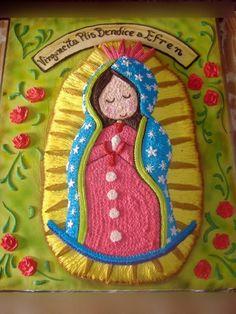 LA VIRGEN DE GUADALUPE~Virgencita Cake.