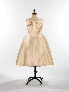 Charles James (American, born Great Britain, 1906–1978). Wedding dress, 1960. American. The Metropolitan Museum of Art, New York. Brooklyn Museum Costume Collection at The Metropolitan Museum of Art, Gift of the Brooklyn Museum, 2009; Gift of Vera Maxwell, 1967 (2009.300.441)