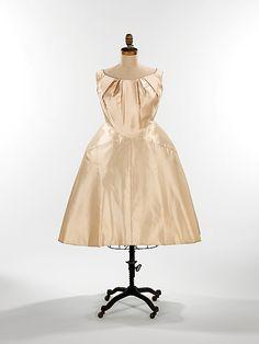 Charles James (American, born Great Britain, 1906–1978). Wedding dress, 1960. American.
