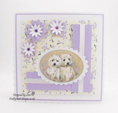 For Him Paper Collection With Male Relations, Occasion and Celebration Die Collection - Crafty Card Designs Highlands Terrier, West Highland Terrier, Image Sheet, Dog Cards, Magical Christmas, Card Tutorials, Card Designs, Birthday Cards, Card Making