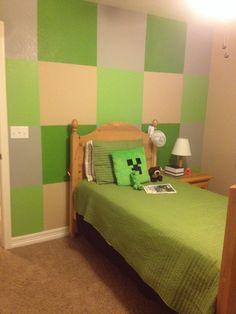 Boys minecraft bedroom