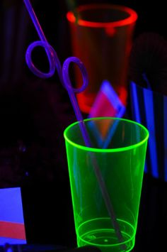Neon Glow in the Dark Blacklight Party