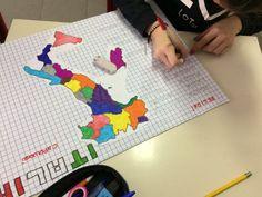 Sapientino Regioni e Capoluoghi, classe 5a - MaestraMarta Coding, Kids Rugs, Tecnologia, Italia, Art, Kid Friendly Rugs, Programming, Nursery Rugs