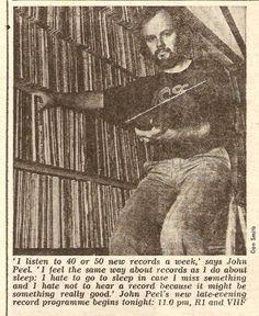 John Peel cutting.