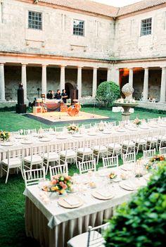 Mosteiro de Landim, wedding in Portugal