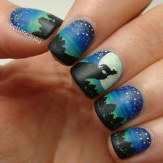 Looking for new nail art ideas for your short nails recently? These are awesome designs you can realistically accomplish–or at least ideas you can modify for your own nails! Chic and fun nail art aren't just reserved for long nails, we guarantee it! Creative Nail Designs, Pretty Nail Designs, Pretty Nail Art, Short Nail Designs, Cute Nail Art, Creative Nails, Cute Nails, Nail Art Designs, Awesome Designs