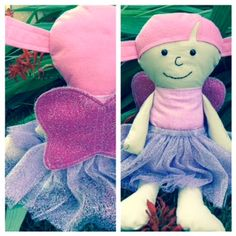 This sweet fairy that Karen made makes me smile every time I see her. :-)