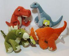 Lot of 4 Plush Dinosaurs Animal Adventure | eBay