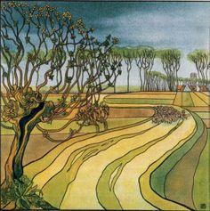 Such contemporary work. 'September' -  Franz Melchers (1868-1944)