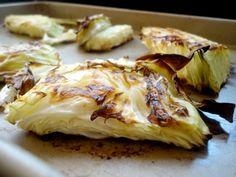 Crispy Roasted Cabbage.