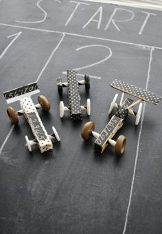 Clothespin Race Cars